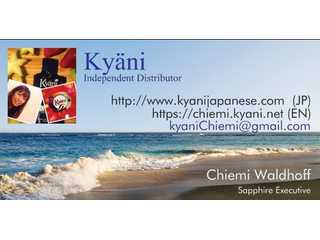Kyani Health & Wealth Opportunity